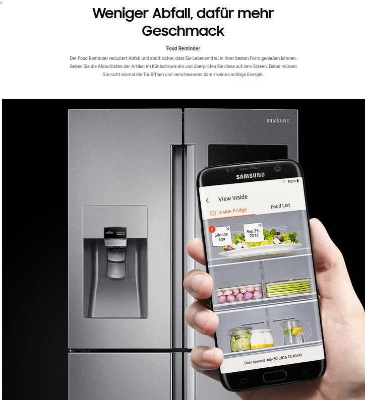 Samsung RF56M9540SR/EF Family Hub, Kühl-Gefrier-Kombination