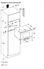 gaggenau bmp 224 100 mikrowelle. Black Bedroom Furniture Sets. Home Design Ideas