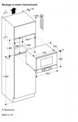 gaggenau bmp 225 100 mikrowelle. Black Bedroom Furniture Sets. Home Design Ideas