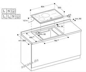 gaggenau ci 483 110 flex induktionskochfeld. Black Bedroom Furniture Sets. Home Design Ideas