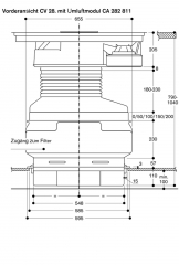 gaggenau cv 282 100 flex induktionskochfeld. Black Bedroom Furniture Sets. Home Design Ideas