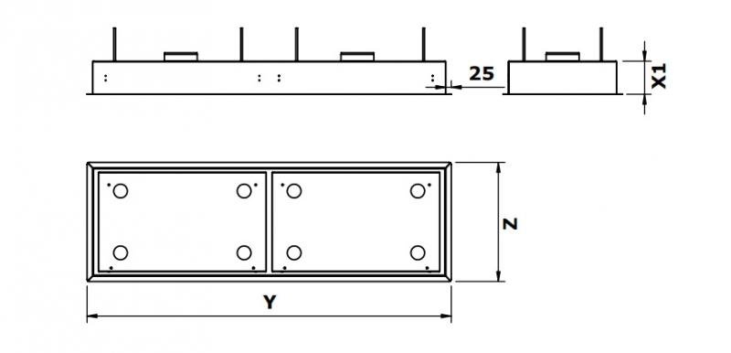 gutmann campo ii 05 em a extern deckenhaube edelstahl und glas 165 cm led beleuchtung ohne. Black Bedroom Furniture Sets. Home Design Ideas