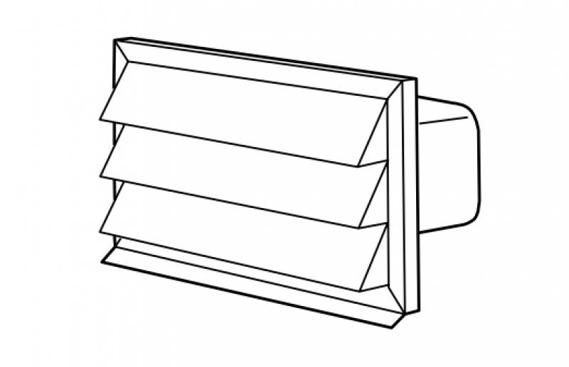 flachkanal mauerkasten preisvergleiche erfahrungsberichte und kauf bei nextag. Black Bedroom Furniture Sets. Home Design Ideas