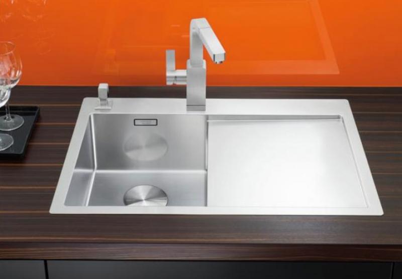 blanco claron einbausp le 4 s if flachrand becken. Black Bedroom Furniture Sets. Home Design Ideas