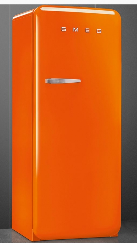smeg fab28lo1 standk hlschrank orange. Black Bedroom Furniture Sets. Home Design Ideas