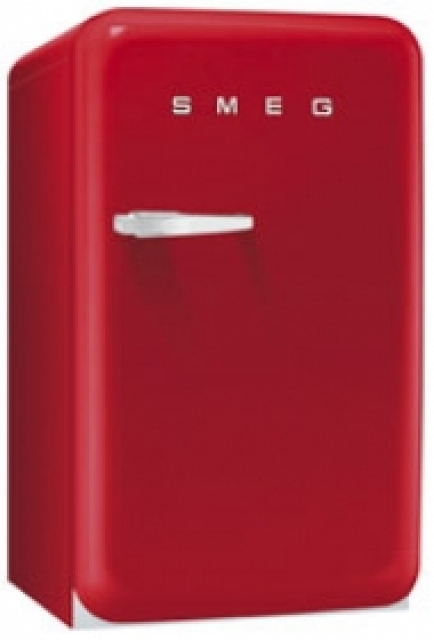 smeg fab10lr standk hlschrank rot. Black Bedroom Furniture Sets. Home Design Ideas