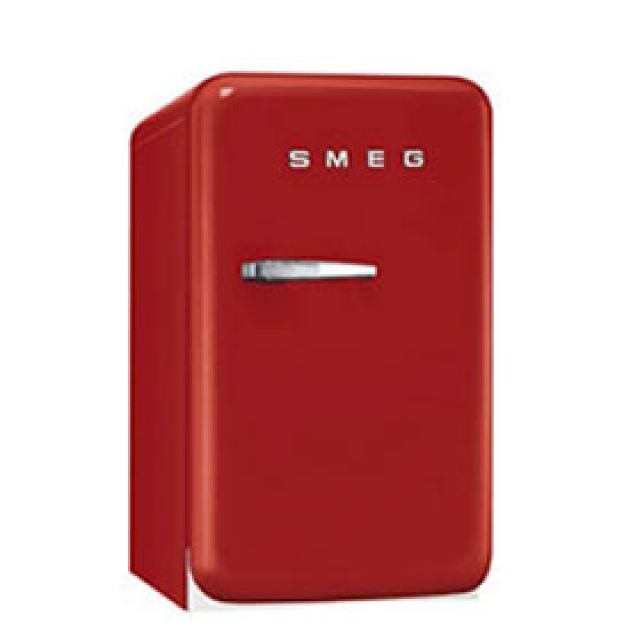 smeg fab5lo1 standk hlschrank minibar orange. Black Bedroom Furniture Sets. Home Design Ideas