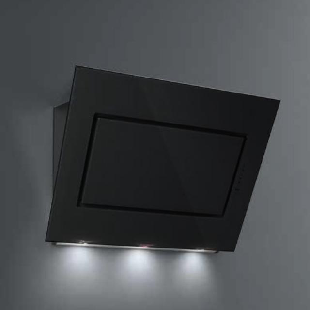 Falmec Quasar Design Schwarz 60 Cm Wandhaube