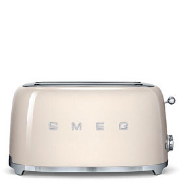 smeg tsf02creu toaster 4 scheiben farbe creme. Black Bedroom Furniture Sets. Home Design Ideas