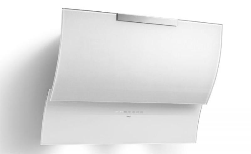 best fluttua hf touch 80 weiss wandhaube 80 cm. Black Bedroom Furniture Sets. Home Design Ideas