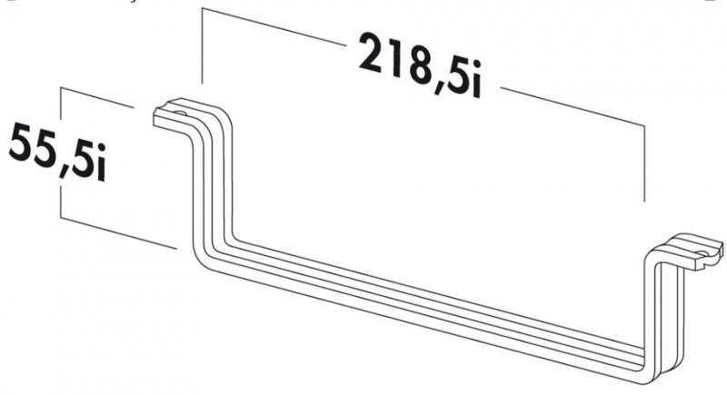 Dunstabzugshauben Deckenmontage naber compair t rss 125 flachkanalhalterung