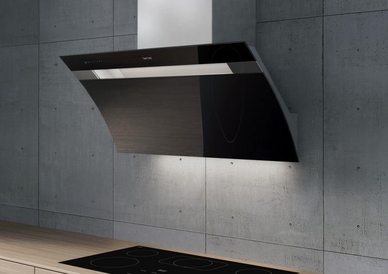 berbel kopffreihaube glassline bkh 90 gl 2 schwarz. Black Bedroom Furniture Sets. Home Design Ideas