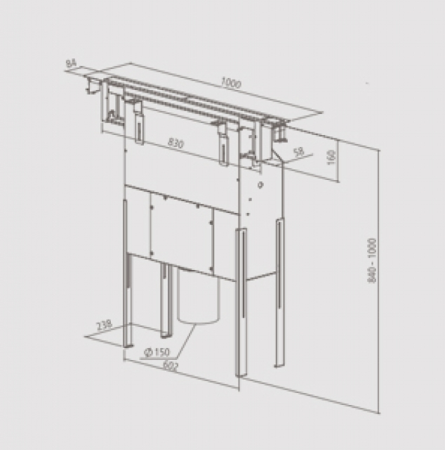 homeier hdo downair mistral slim umluft. Black Bedroom Furniture Sets. Home Design Ideas
