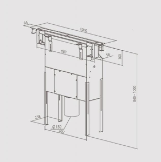 homeier hdo downair mistral slim abluft. Black Bedroom Furniture Sets. Home Design Ideas
