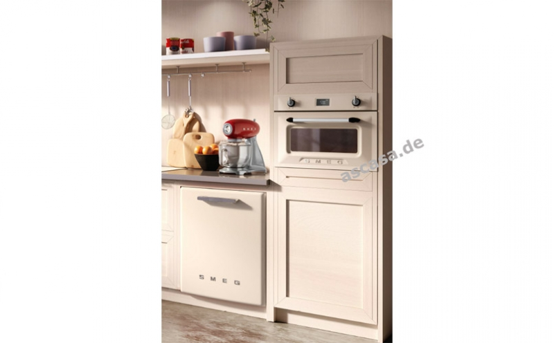 Retro Kühlschrank Idealo : Smeg sf4920mcp1 kompakt backofen mit mikrowelle