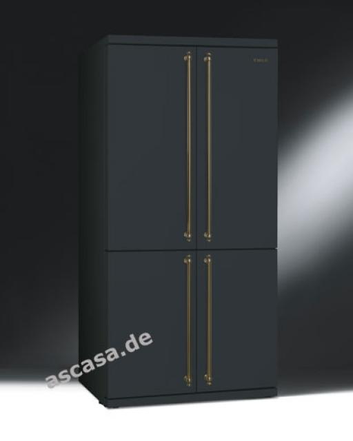 smeg fq60xp k hl gefrier komb side by side. Black Bedroom Furniture Sets. Home Design Ideas