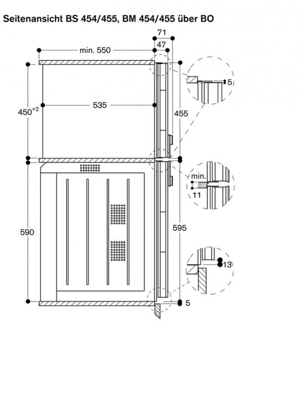 gaggenau bs 454 110 dampfbackofen. Black Bedroom Furniture Sets. Home Design Ideas