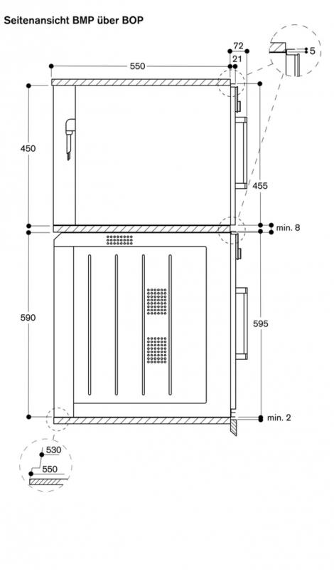 gaggenau bmp 250 100 mikrowellen backofen. Black Bedroom Furniture Sets. Home Design Ideas