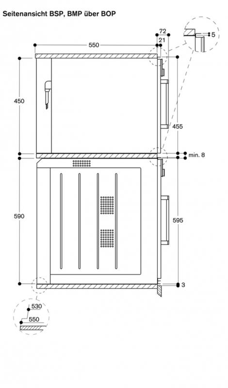 gaggenau bmp 250 130 mikrowellen backofen. Black Bedroom Furniture Sets. Home Design Ideas