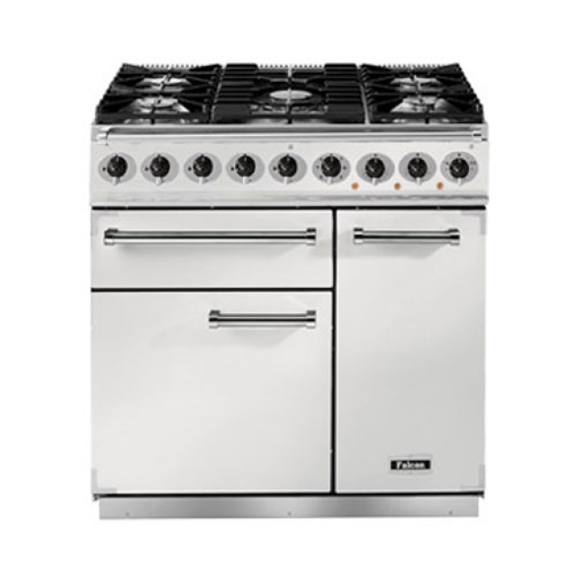 falcon 900 deluxe range cooker f900dxdfwh. Black Bedroom Furniture Sets. Home Design Ideas