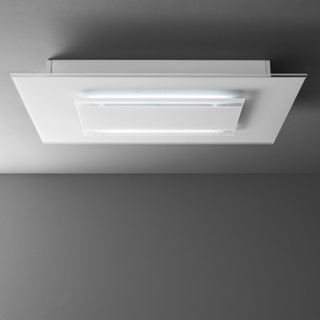 Falmec aura design weiss ad120w for Deckenhaube