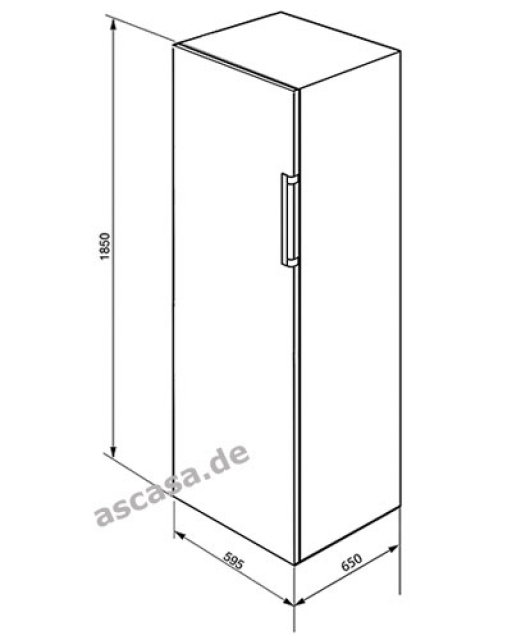 smeg cv31x2pne vollraum gefrierschrank. Black Bedroom Furniture Sets. Home Design Ideas