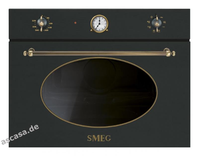 Smeg Kühlschrank Reduziert : Smeg sf mao kompakt mikrowellen ofen