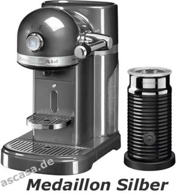 kitchenaid artisan nespresso kaffeemaschine mit. Black Bedroom Furniture Sets. Home Design Ideas