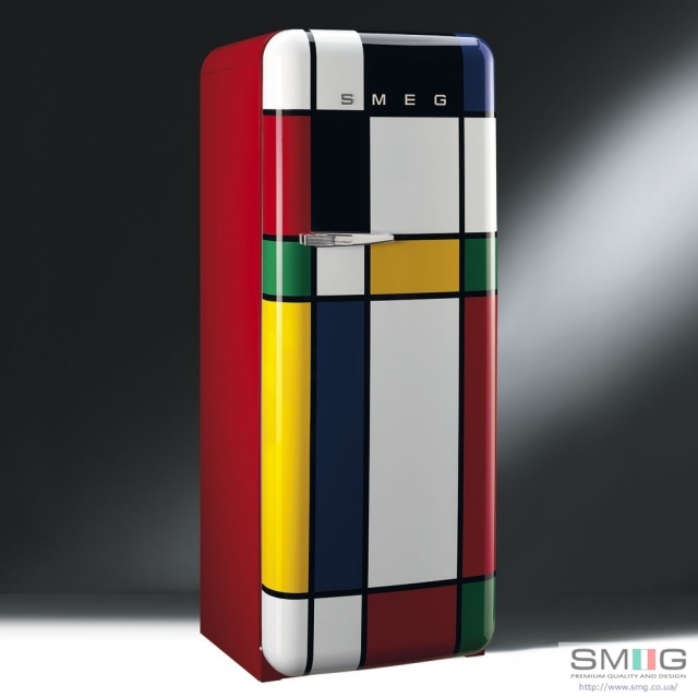 smeg fab28rdmc standk hlschrank multicolor. Black Bedroom Furniture Sets. Home Design Ideas