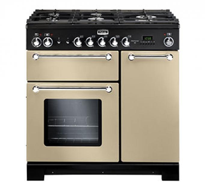 falcon kitchener 90 range cooker kch90dfcr. Black Bedroom Furniture Sets. Home Design Ideas