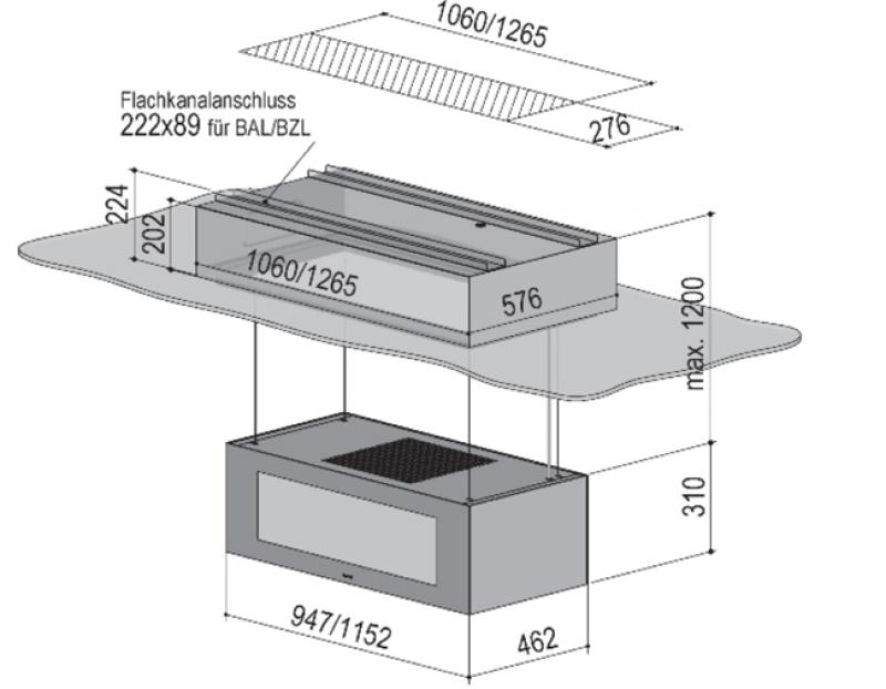 berbel skyline edge light bdl 115 ske l 1050142. Black Bedroom Furniture Sets. Home Design Ideas