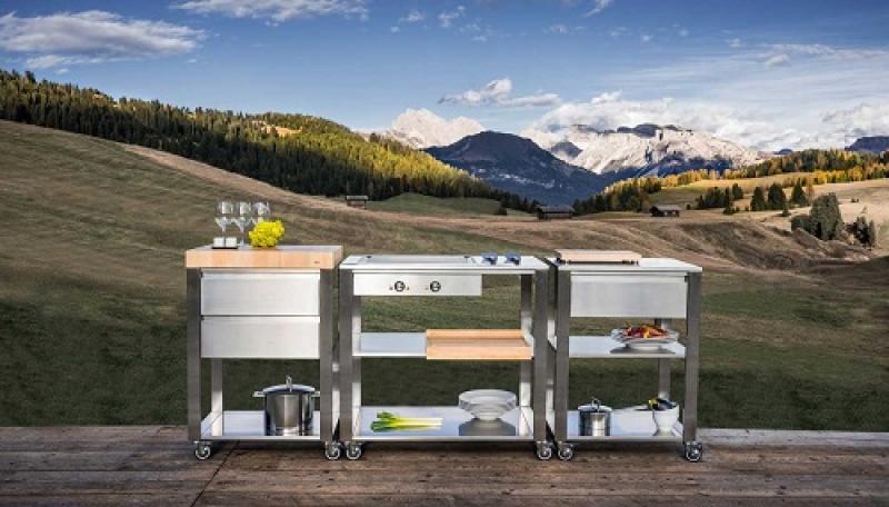 Outdoor Küchenwagen : Küchenwagen rustico wenko online shop
