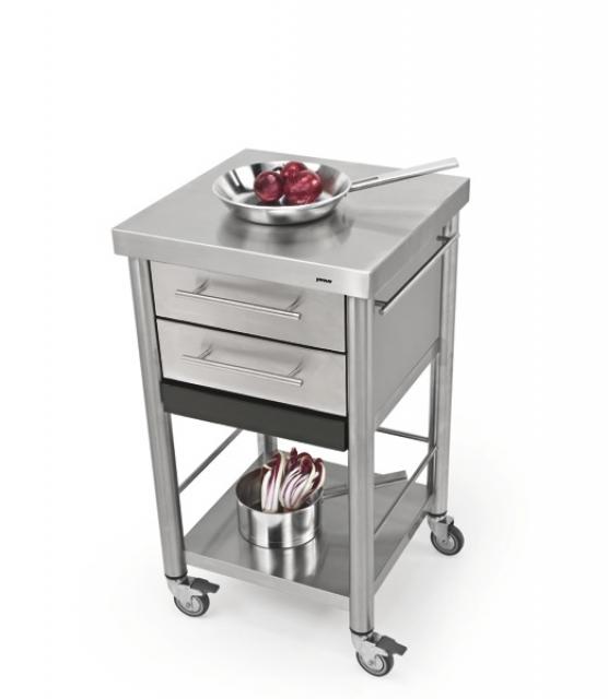 Küchenwagen edelstahl  Jokodomus Küchenwagen Auxilium Edelstahl, 687502