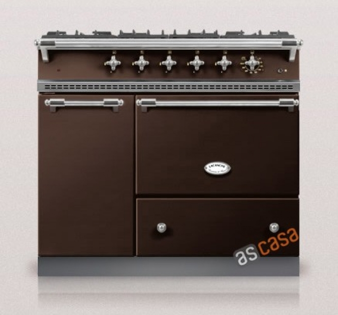 Lacanche Volnay Classic, Kochstation, 100 cm, Farbe Schokolade, mit 5 Jahren Garantie!