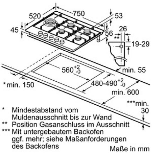 neff tds 2779 n t27ds79n0d autarkes gaskochfeld. Black Bedroom Furniture Sets. Home Design Ideas