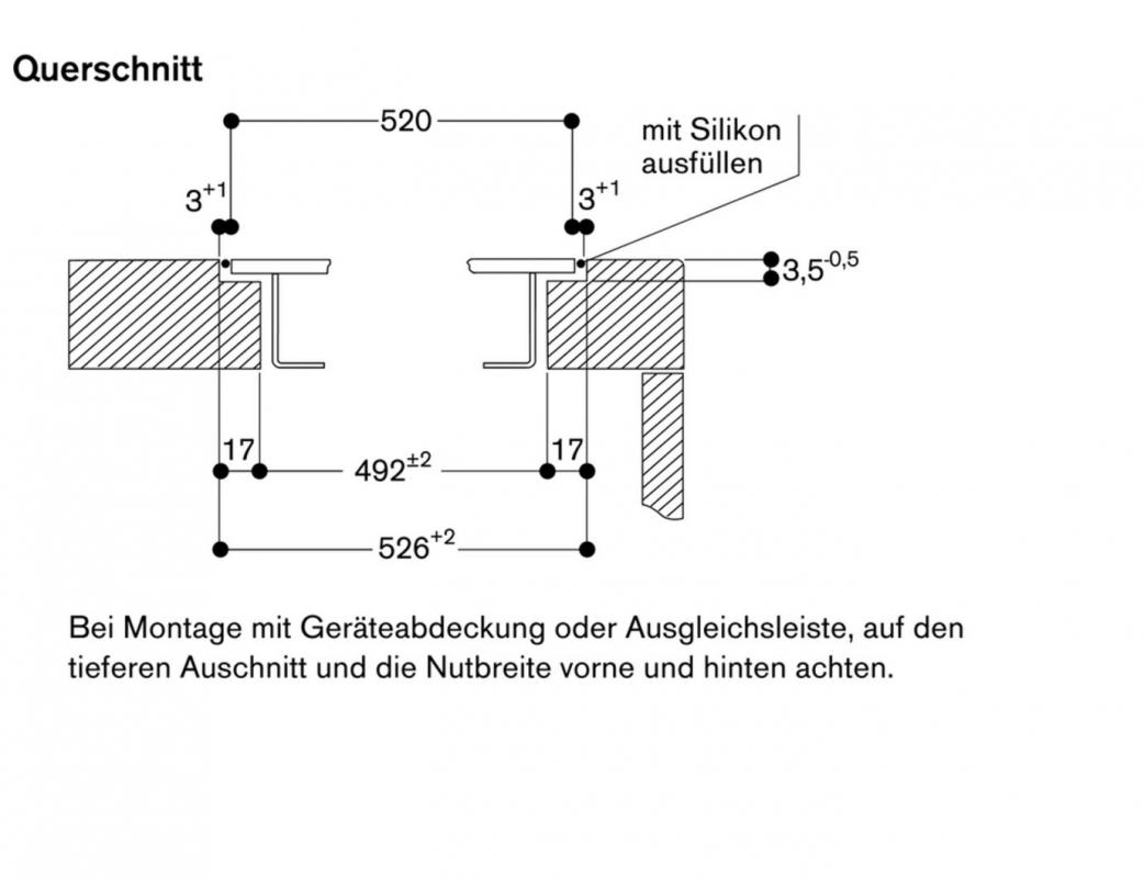 gaggenau vi 422 111 vario flex induktionskochfeld. Black Bedroom Furniture Sets. Home Design Ideas