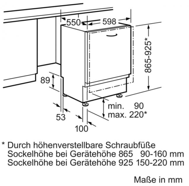 Neff gx 3600 g s523g60x0e geschirrsp ler 60 cm - Energieverbrauch kuhlschrank tabelle ...
