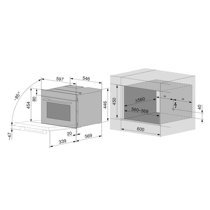 v zug combair xsl der enbau backofen. Black Bedroom Furniture Sets. Home Design Ideas