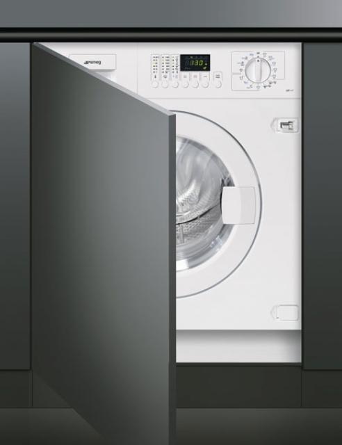 smeg lst147 waschvollautomat vollintegrierbar. Black Bedroom Furniture Sets. Home Design Ideas