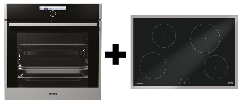 gorenje black pepper x02 backofen kochfeld set. Black Bedroom Furniture Sets. Home Design Ideas