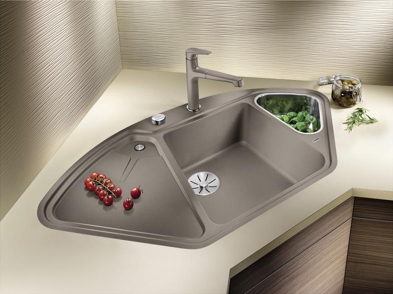 blancodelta ii silgranit puradur 523658. Black Bedroom Furniture Sets. Home Design Ideas