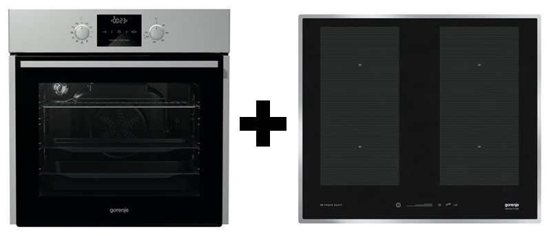 gorenje black pepper b03 backofen kochfeld set. Black Bedroom Furniture Sets. Home Design Ideas
