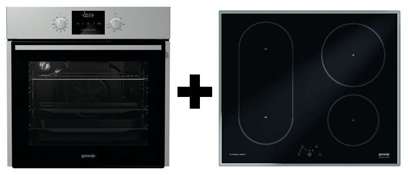 gorenje black pepper c04 backofen kochfeld set. Black Bedroom Furniture Sets. Home Design Ideas