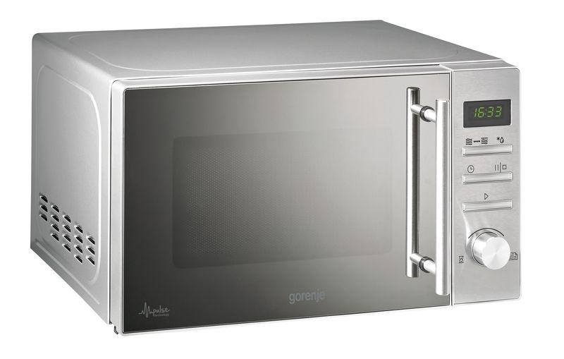 gorenje mmo 20 dge ii stand mikrowelle mit grill edelstahl. Black Bedroom Furniture Sets. Home Design Ideas