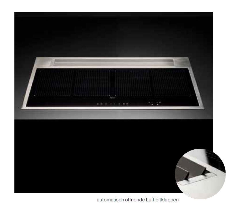 falmec sintesi induktionskochfeld mit absaugung 88cm. Black Bedroom Furniture Sets. Home Design Ideas