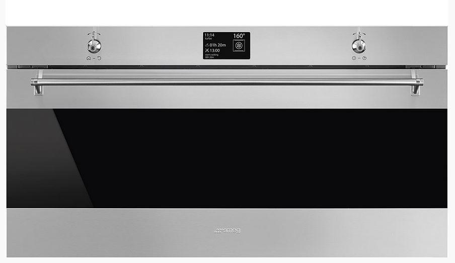 Smeg Kühlschrank Gewicht : Smeg sfpr einbaubackofen classici design
