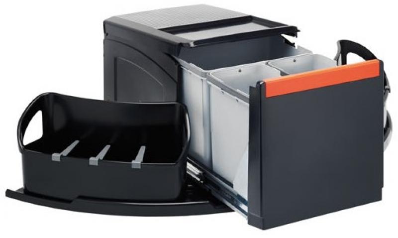 franke sorter cube eck 3 fach handauszug. Black Bedroom Furniture Sets. Home Design Ideas