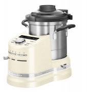Gratis Food Processor - KitchenAid Artisan, 5KCF0104EAC/4, Cook Processor Küchenmaschine, Creme, 4.50 Liter