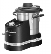 Gratis Food Processor - KitchenAid Artisan, 5KCF0104EBK/4, Cook Processor Küchenmaschine, Cast Iron Black, 4.50 Liter