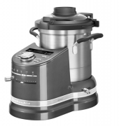 Gratis Food Processor - KitchenAid Artisan, 5KCF0104EMS/4, Cook Processor Küchenmaschine, Medaillion Silber, 4.50 Liter